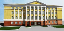 Project of administrative building of the Pension Fund in Kolomna city