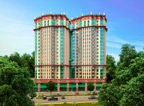 Project of 21-storey residential house with non-residential premises