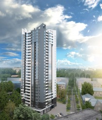 Project of 26-storey  apartment house