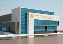 Project of physical training and health improvement complex with a swimming pool