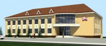 Project of administrative building of the Pension Fund in Chekhov city