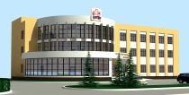 Project of the administrative building of Pension Fund in Domodedovo city