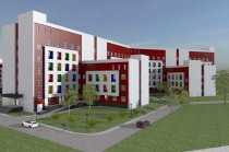 Project of State children's city hospital in Zelenograd City, Moscow region